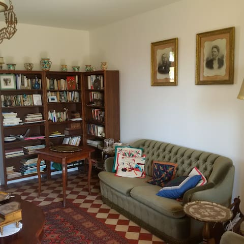 Our living room. - La Garnache - Guesthouse