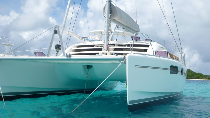 *NEW* Sail Catamaran ALL INCLUSIVE Caribbean