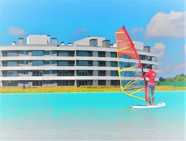 Departamento playa, aguas turquesas, LAGOON PILAR