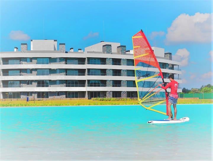 Departamento playas, aguas turquesas, Lagoon Pilar