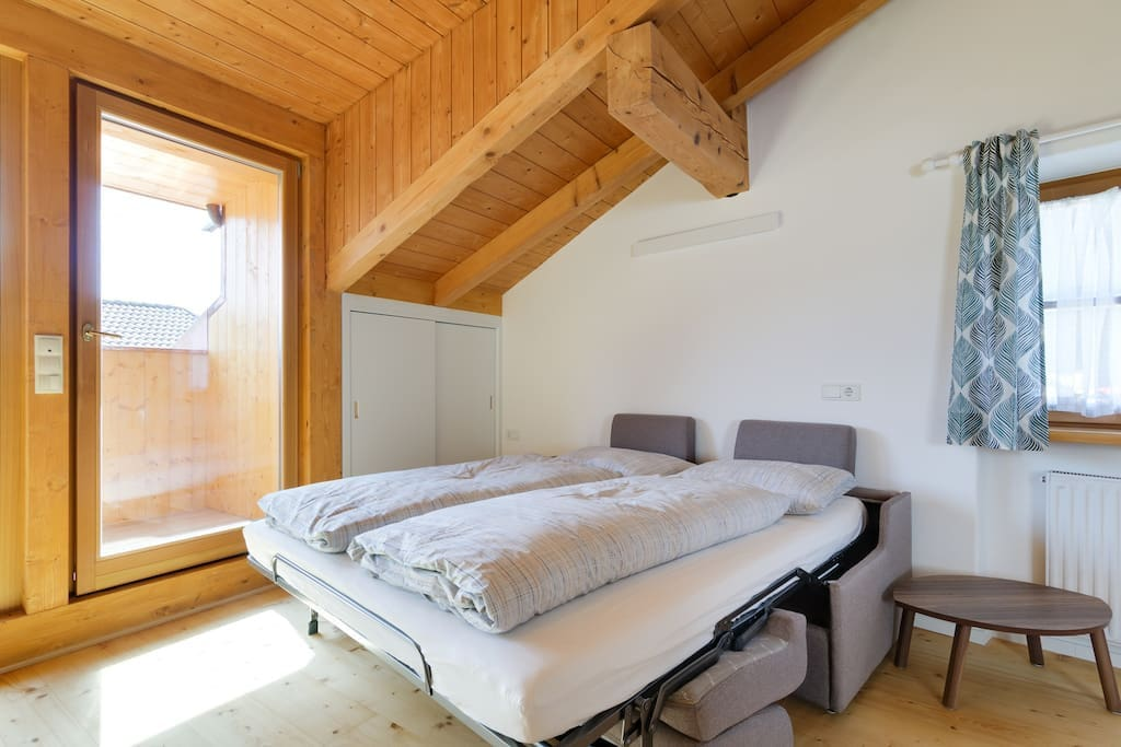 Your bedroom with loggia