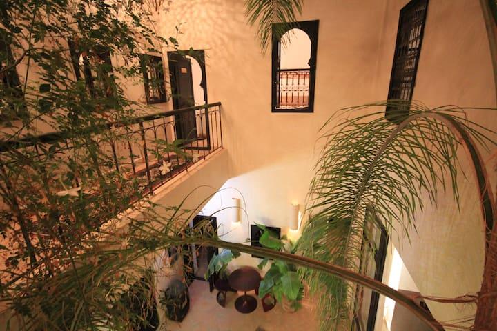Chambre d'hôte dans Riad de charme : CORIANDRE