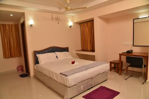 Ananda Residency - ( Deluxe Double Non AC Room)