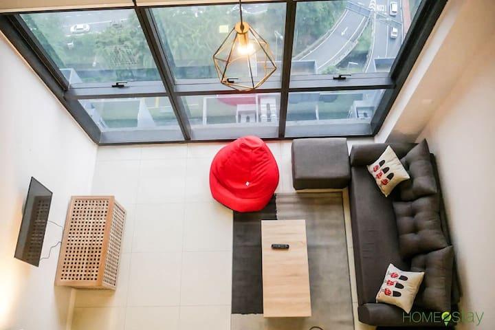 Modern and Cozy loft @ PJ ICON CITY