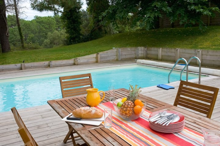 Villa charmante | Terrain de golf de Moliets + proximité de la plage