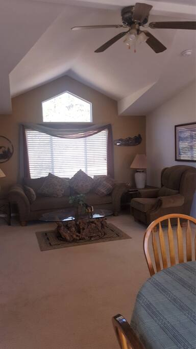 Dogwood home has a large living room and beautifully decorated