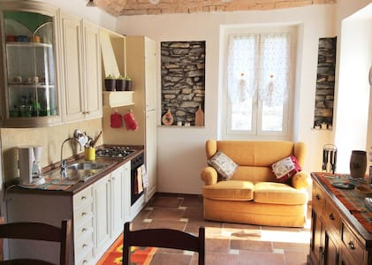 Country chic apartment, Caravonica - Lucinasco - Huoneisto
