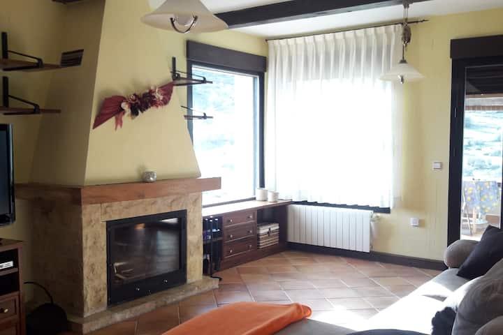 Casa con vistas en la Serranía de Cuenca