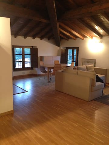Beautiful attic in villa between Lucca & Viareggio - Massarosa - Apartment