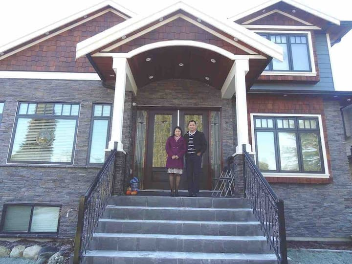 Brand New house in a central location of Burnaby.
