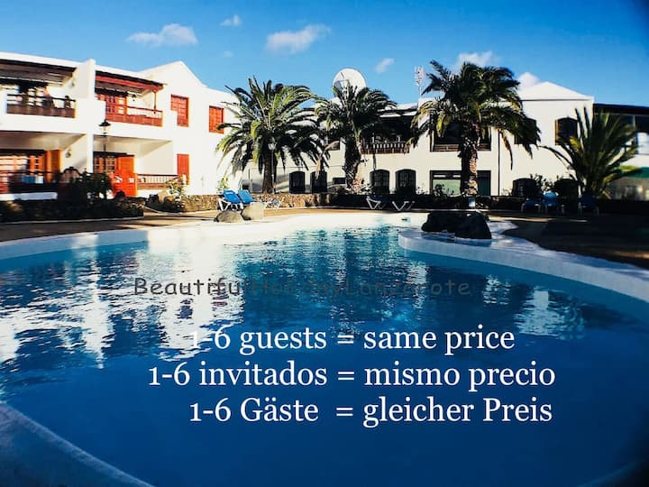 Apartment Maravillosa with Pool,Sat-TV,free Wifi