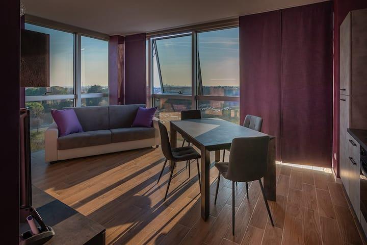 Crystal Tower M&M - Appartamento Purple