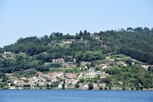 The house from across the River Douro
