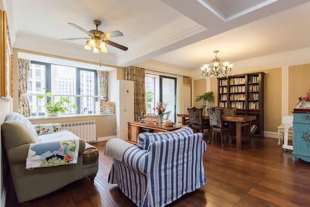 精美温馨的美式跃层公寓 - Hangzhou - Apartmen