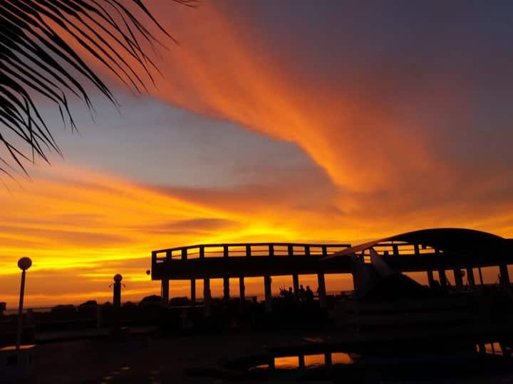 Descanso y confort frente al mar, Crucita Manabí