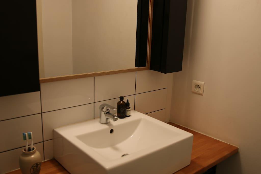 Bathroom view #1