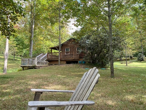 New Listing-Mountain Cabin off BR pkwy 1 BR w/View