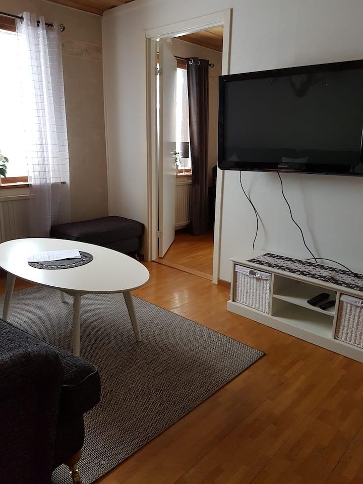 3 st. lägenheter,   2 st Ettor,   1 st 2:a.