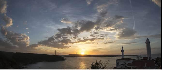 LONG TERM On a bay outside Istanbul Anadolu Feneri