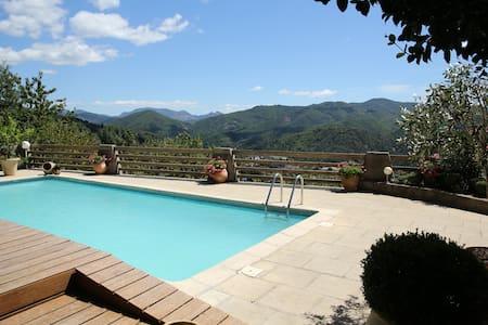 Chambres d'hôtes avec piscine en Cévennes - Le Vigan - เกสต์เฮาส์