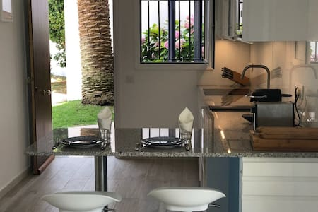 Spectacular apartment with garden at 50m to  beach