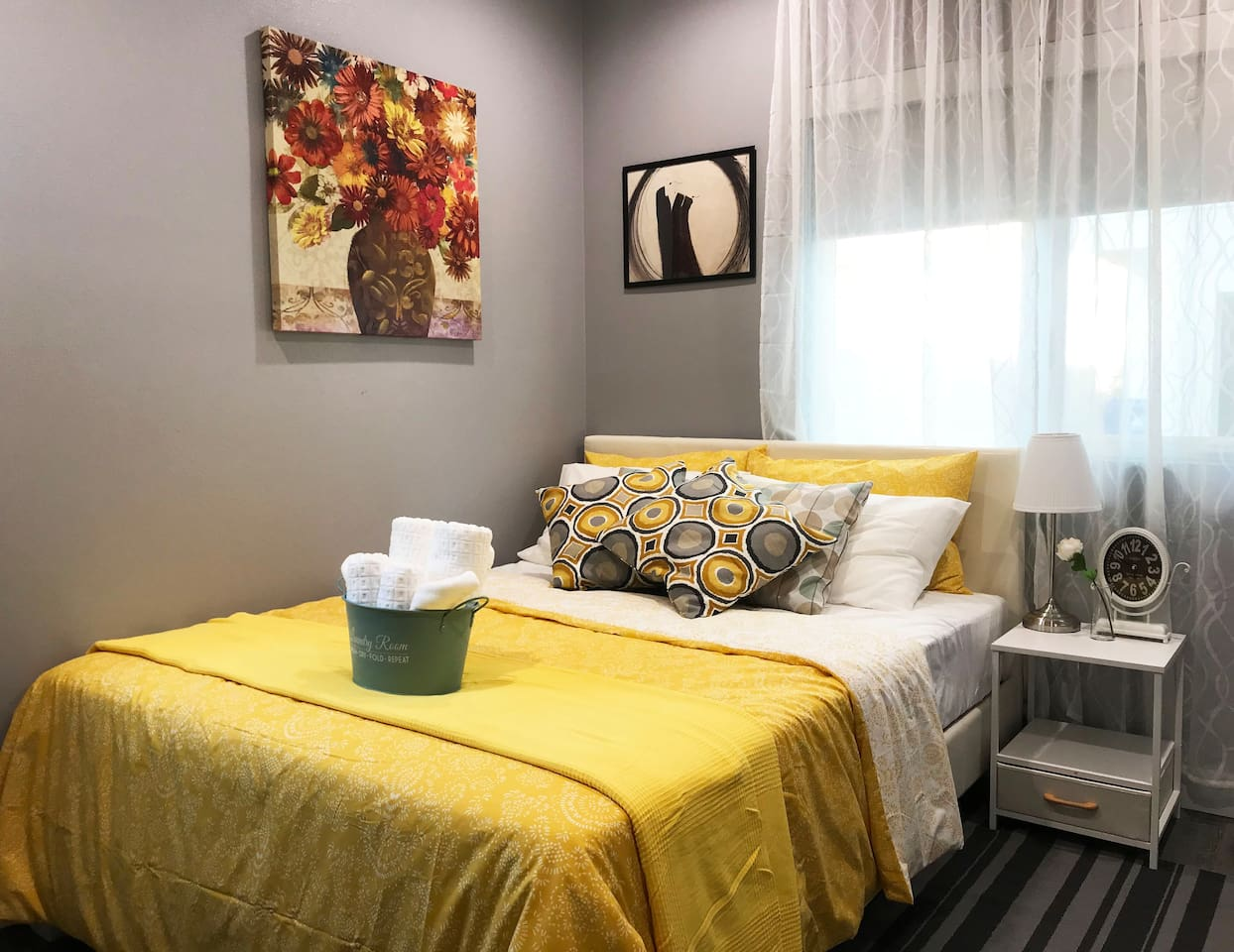 Room#1 Beautiful, super clean, and everything brand new! New constructed home and all new furniture and appliances!