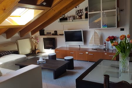 Romantic and refined flat under the stars of Arona - Arona - Huoneisto