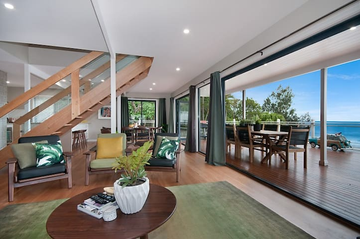 The Palms At Byron - Luxury Wategos Beach House - Byron Bay - Hus