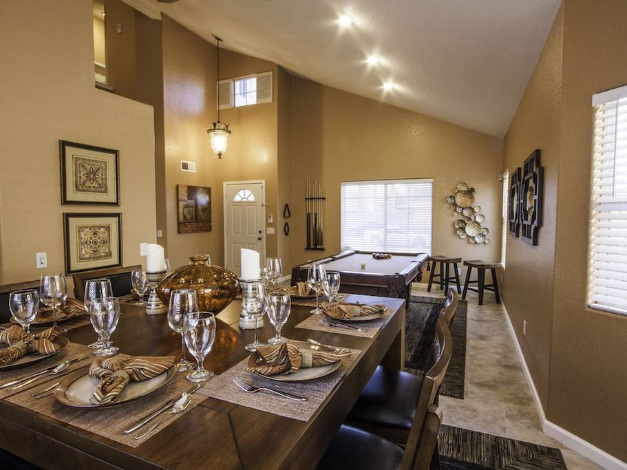 Dining area for the entire crew!