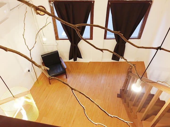 壁畫街Armenian Street Cozy Studio 4-6pax