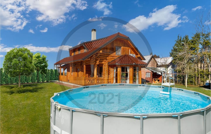 Nice home in Vinogradi Ludbreski with WiFi, Outdoor swimming pool and 2 Bedrooms