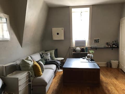 attic apartment downtown