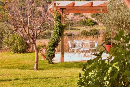 5prs with garden & bbq close to sea - Keratea - Villa