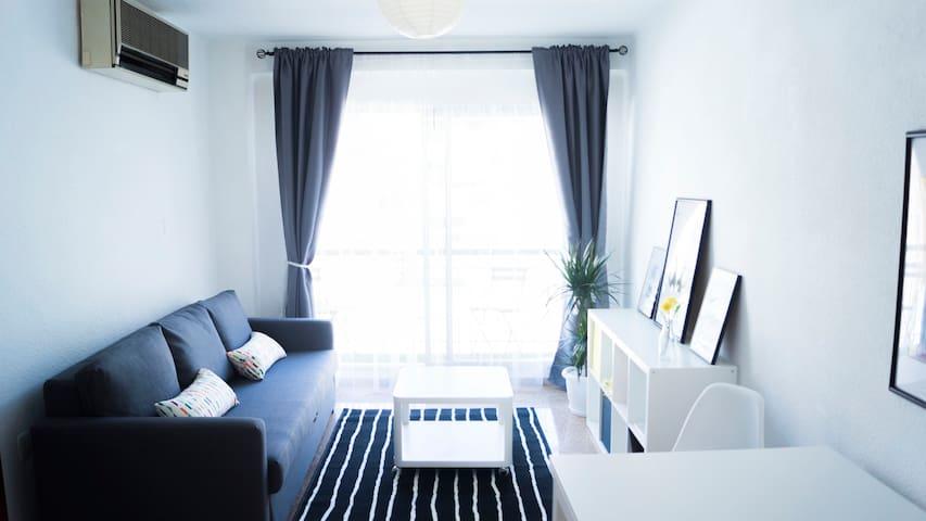 Apartamento Completo + 2 Baños + WIFI - València - Appartamento