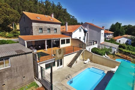 House family-friendly with pool - A Coruña - Haus