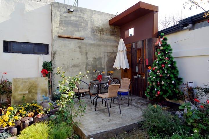 전주 인디고 게스트하우스: 예쁜풍경 오번방