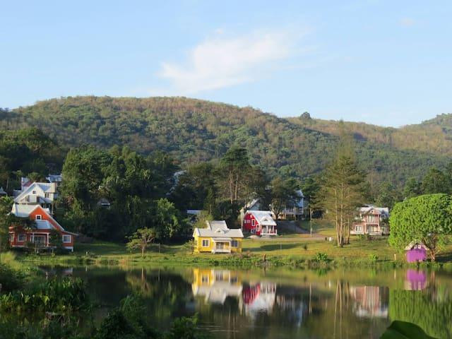 Brookside Valley - Tambon Sam Nak Thon - Дом