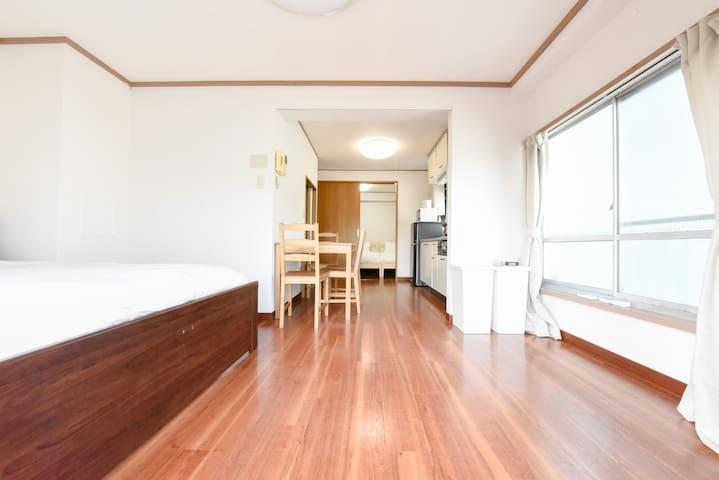 Wi-Fi/Yoyogi Sta.5min walk casual apartment - Shibuya-ku - Talo