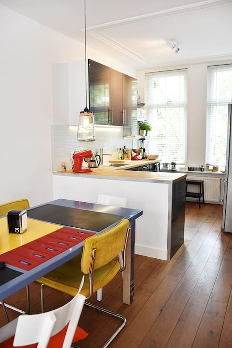 Kitchen with all utilities