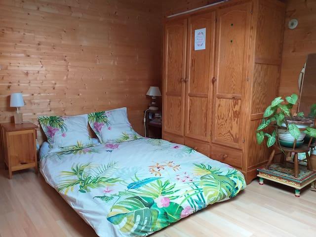 Ma maison intérieur bois à 2 pas du Grand Site