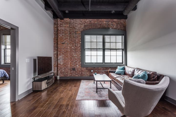 Naptown Luxury Loft Downtown 2Bed/1 Bath/Park 202