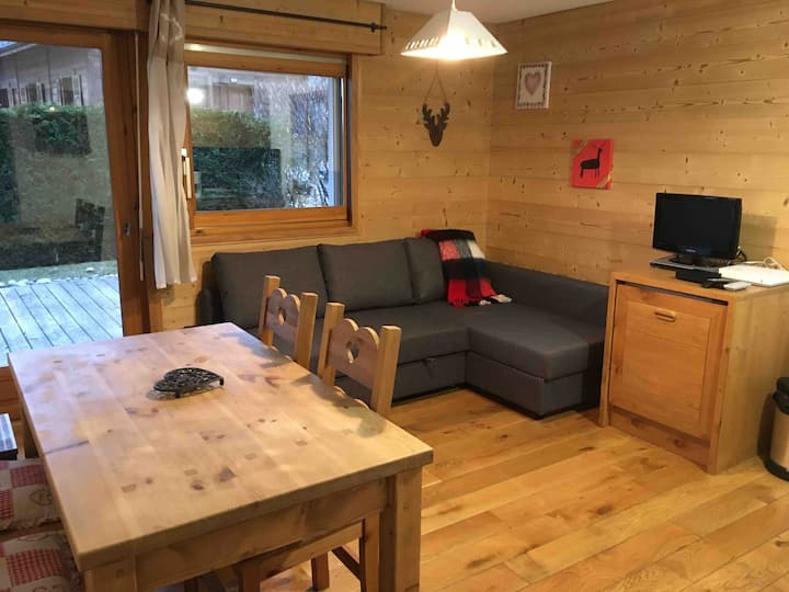 Cozy 2 bedrooms apartment in central Chamonix!