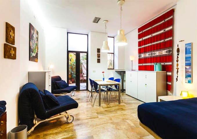 cozy loft Ac+wifi+2bicis - Valência