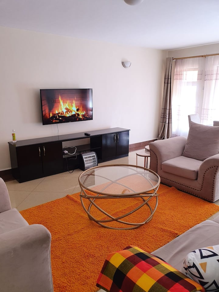 Cozy two bedroom apartment near Two rivers mall