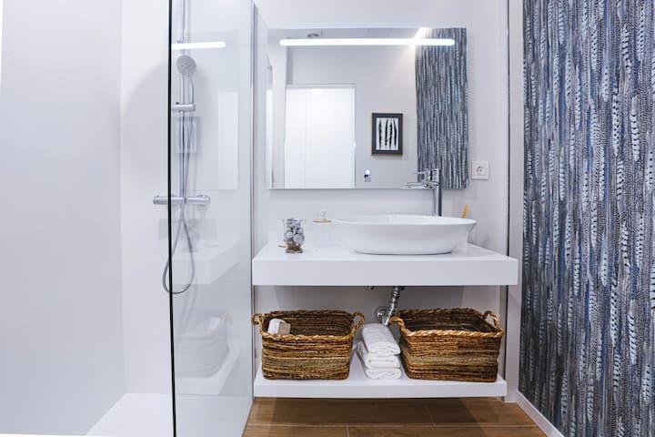Una gran ducha de 160