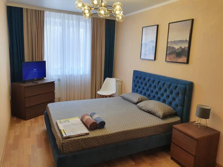Р.Галеева 35, 3-х комнатная в новом доме