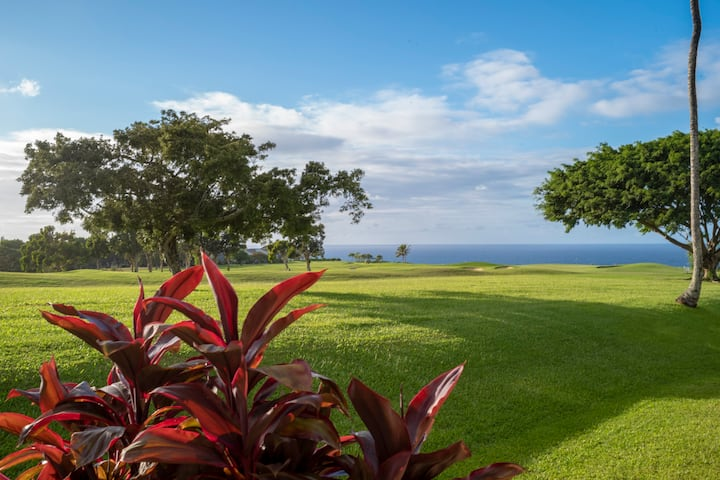 Ocean View! Golf Course Townhouse! Walk to Beach!
