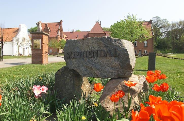Siloen på Sophiendal