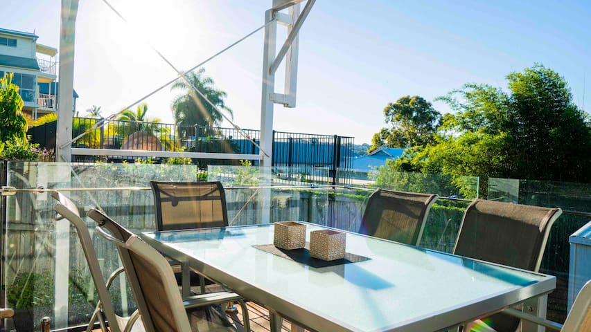 BULIMBA two Bedroom, one bathroom with kitchen.