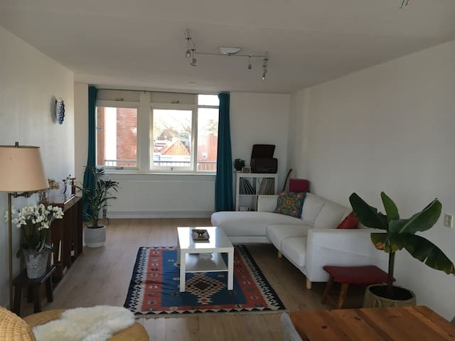 Spacious bright apartment in the center of Leiden